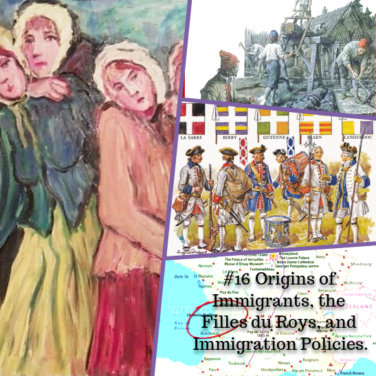 Origins of immigrants picture