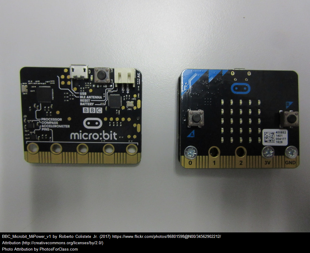 Micro:bit Front and Back