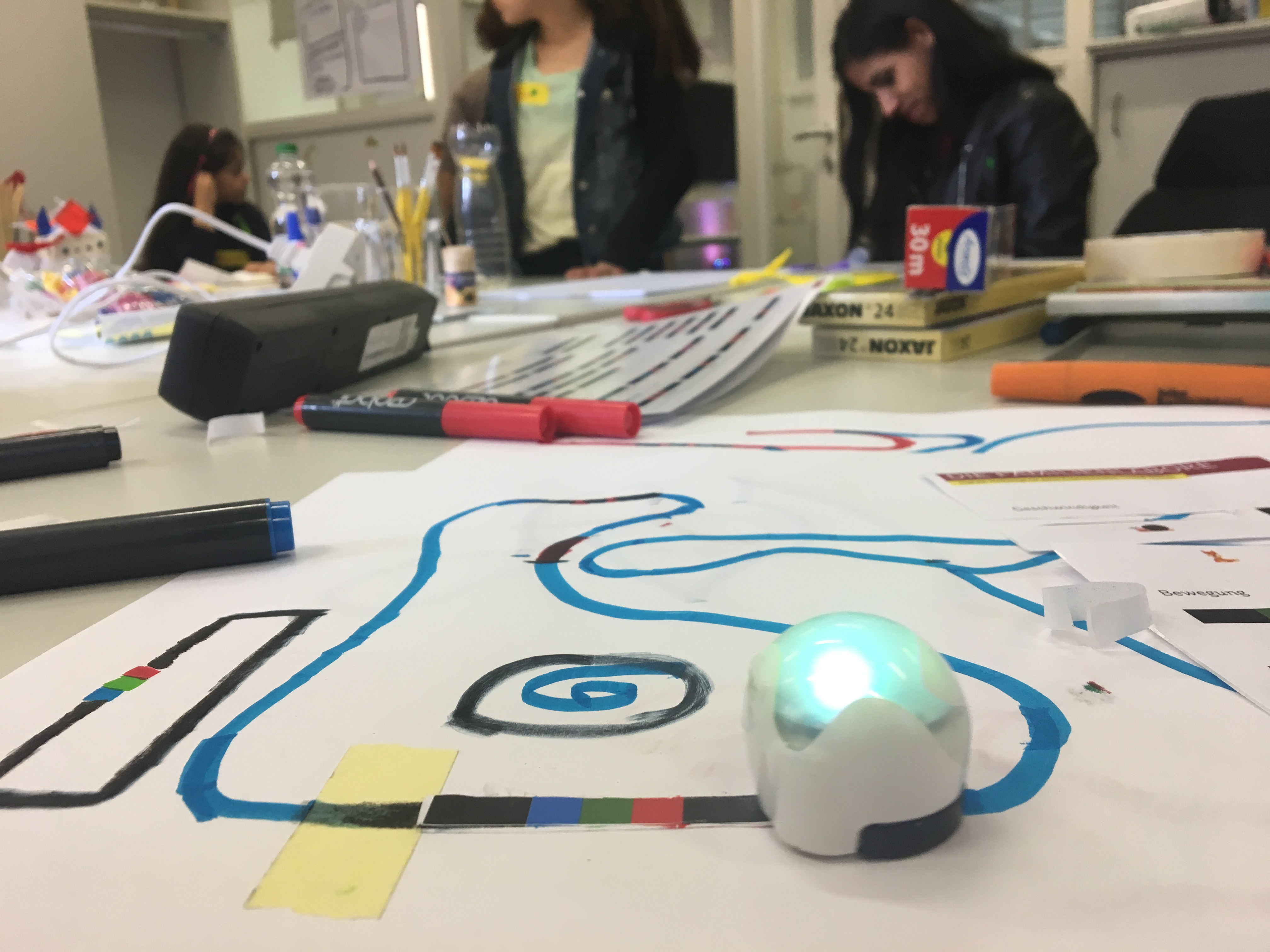 Ozobot in Action